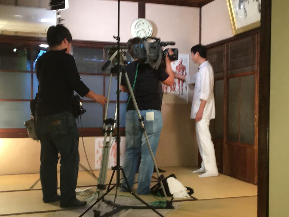 NHKの 「ニュースホット関西」で 元氣堂の「能エクササイズ」が 紹介されます!